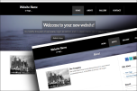Blackheader 2 website template