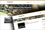Bridge website template