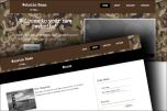 Camouflage website template