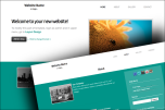Flat 2 website template