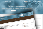 Globe website template