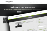 Grey Accent website template