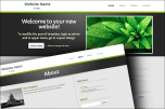 Grey Accent 2 website template