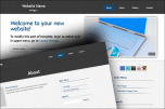 Sketched website template