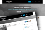 Stretched 2 website template