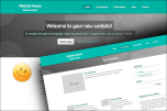 Stretched website template