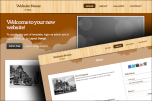 Wood 2 website template