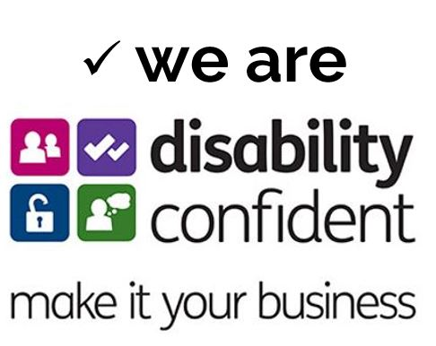 we are disability confident